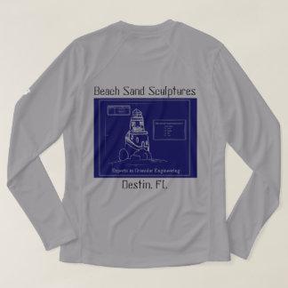 SandCastle Lang-Hülse T - Shirt-Männer T-Shirt