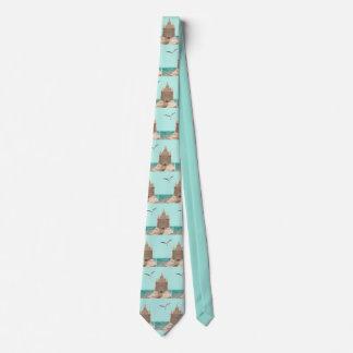 Sandcastle-Seemöwekrawatte Krawatte