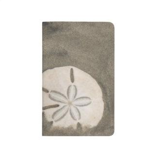 Sanddollar (Echinarachnius Parma) Taschennotizbuch