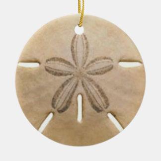 Sanddollar Keramik Ornament