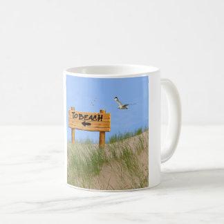 Sanddünebild für klassische weiße Tasse