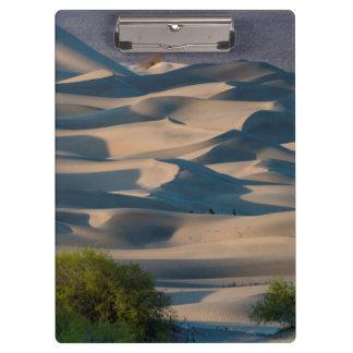 Sanddünelandschaft, Kalifornien Klemmbrett