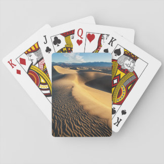 Sanddünen in Death Valley, CA Spielkarten