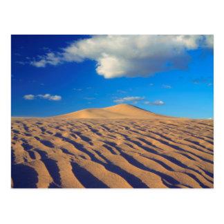 Sanddünen und Wolken Postkarte