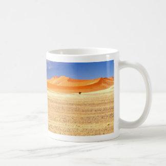 Sanddünen von Namibia Kaffeetasse