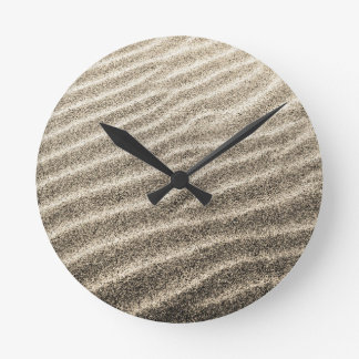 Sande der Zeit-Wanduhr Runde Wanduhr