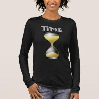 Sandglass Hourglass-Timer Langarm T-Shirt