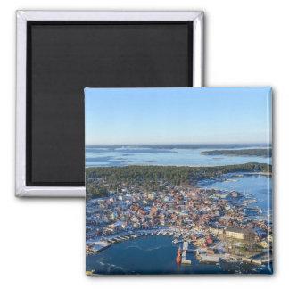 Sandhamn, Stockholm-Archipel, Schweden Quadratischer Magnet