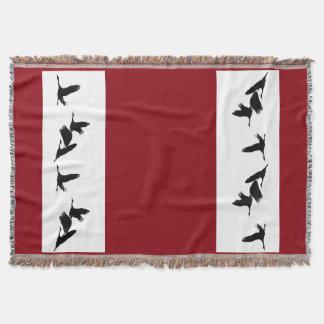 Sandhill Kran-Vogel-Tier-TierWurfs-Decke Decke