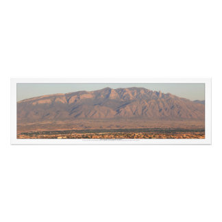 Sandia Berge an Bernalillo New Mexiko Fotodruck