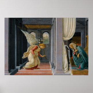 Sandro Botticelli - die Ankündigung Poster