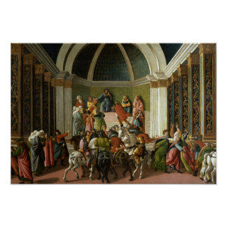 Sandro Botticelli - die Geschichte von Virginia Poster