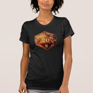 Sandstein D&D d20 und tan SAHARA die T-Shirt