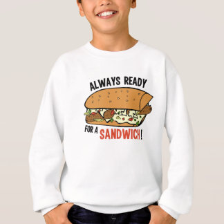 Sandwich-Shirts u. -jacken Sweatshirt