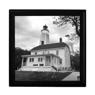 Sandy-Haken-Leuchtturm Erinnerungskiste