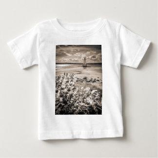 Sandy-Punkt-Leuchtturm Baby T-shirt