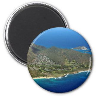 Sandy-Strand-Antenne Runder Magnet 5,1 Cm