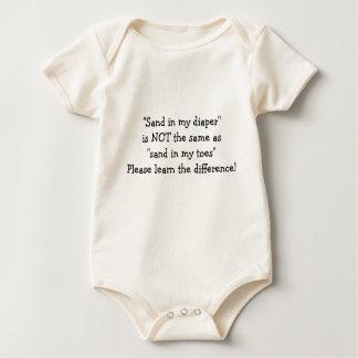 Sandy-Windel Baby Strampler
