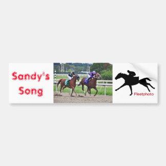 Sandys Lied - Silvestre Gonzalez Autoaufkleber