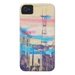 Sanfran-sehen-Spitzen Auftragbezirk San Francisco iPhone 4 Etuis