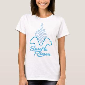 Sanfte Riesen blau T-Shirt