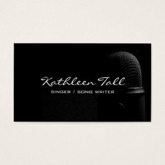 Sänger, Sänger, Solo, Leistungs-Lied-Verfasser Visitenkarte