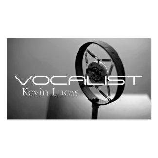 Sänger, Sänger, Solo, Leistungs-Unterhaltung Visitenkarten