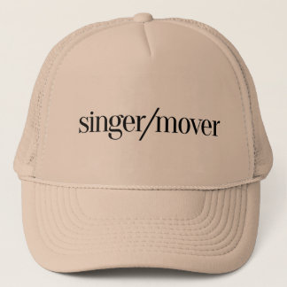 Sänger-/Urheber-Baseball-Mütze Truckerkappe