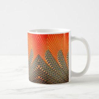 Sangria mit Federn versehen Kaffeetasse