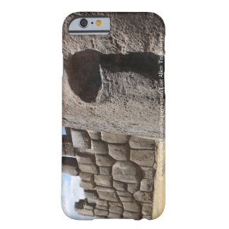 Sangstar1 Saqsaywaman verlorene alien-Technologie Barely There iPhone 6 Hülle