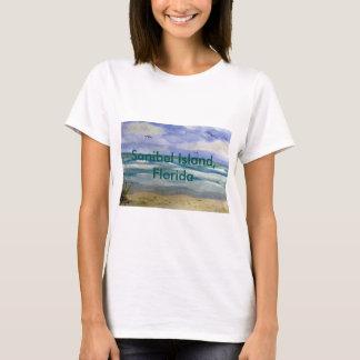 Sanibel Insel-Aquarell T-Shirt