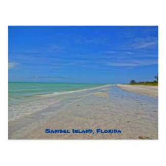 Sanibel Insel Florida - das Golf- von Postkarte