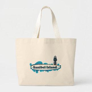 Sanibel Insel Jumbo Stoffbeutel