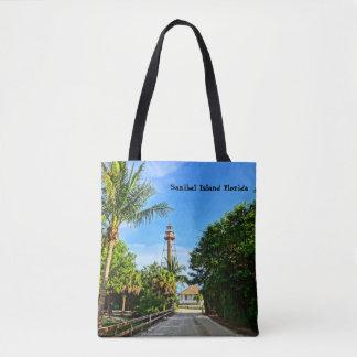 Sanibel Insel-Leuchtturm-Florida-Golf-Küste Tasche