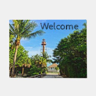 Sanibel Insel-Leuchtturm-Florida-Golf-Küste Türmatte