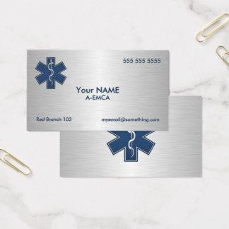 Sanitäter EMT EMS delux Visitenkarte
