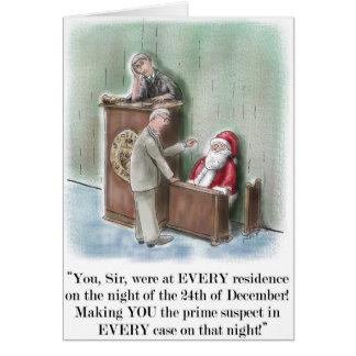 Sankt auf Zeugenstand-Weihnachtskarte Karte