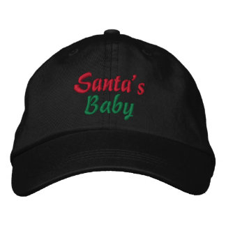 Sankt Baby-Weihnachtskappe Bestickte Baseballcaps
