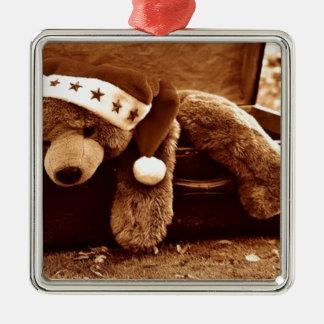 Sankt-Bär Silbernes Ornament