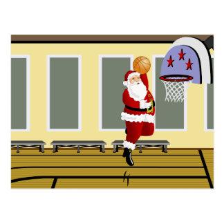 Sankt-Basketball Postkarte