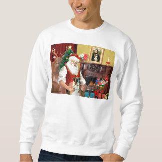 Sankt Boxer (natürliche Ohren) Sweatshirt