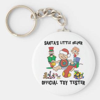 Sankt des Babys 1. Weihnachtskleiner Helfer Schlüsselanhänger