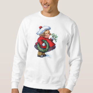 Sankt-Elf mit Kranz Sweatshirt