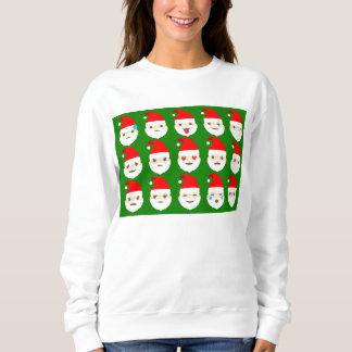 Sankt emoji Emoticons Sweatshirt