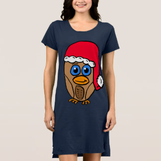 Sankt-Eulen-Shirt Kleid