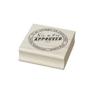 Sankt genehmigte Geschenk-Aufkleber von Gummistempel