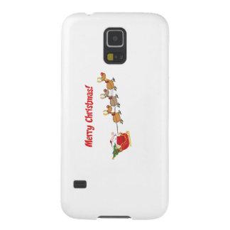 Sankt in seinem Pferdeschlitten Galaxy S5 Cover