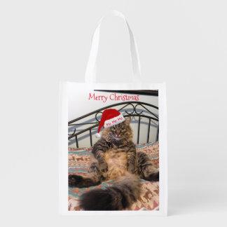 Sankt-Katzen-wiederverwendbare Wiederverwendbare Einkaufstasche