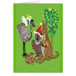 Sankt-Koala Grußkarte