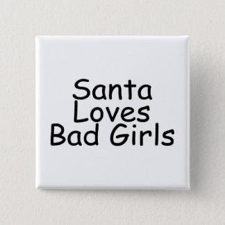Sankt-Liebe-Schlecht-Mädchen Quadratischer Button 5,1 Cm